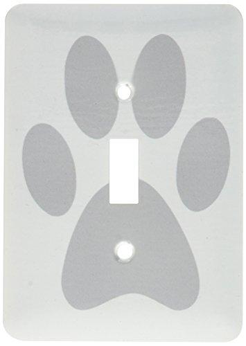 3dRose lsp 161516 1 Pawprint Cartoon Footprint