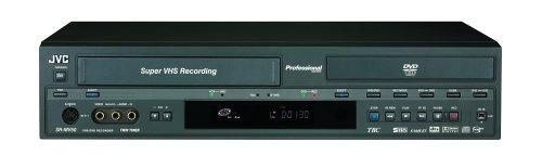 (JVC SR-MV50US DVD-R & S-VHS/VHS Dual Deck Recorder and Player)
