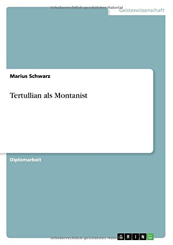 Download Tertullian als Montanist (German Edition) ebook