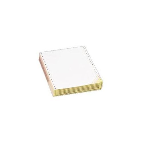 S.P. Richards Company Computer Paper, Multipart, 2 Parts, 9-1/2 x 11 Inches, 1850 Count, White/Yellow (SPR01384)