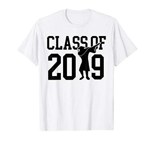 - Class 2019 Dab Gift Tshirt 2019 Graduation Shirt