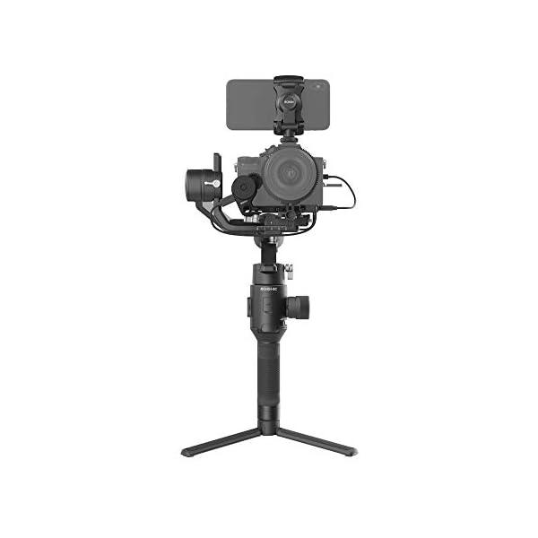 DJI Ronin-SC Pro Combo Gimbal Kit con Stabilizzatore Professionale Portatile a 3 Assi, Cavi di Controllo, Supporto, per Fotocamera Mirrorless, Compatibile con Nikon, Canon, Panasonic, Fujifilm 2 spesavip