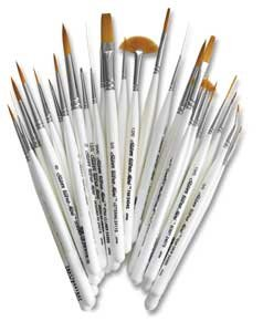 Silver Brush UMS-2429S Ultra Mini Complete Brush Set, 29 Per Pack by Silver Brush Limited