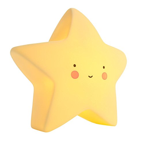 AMZStar Lovely Silicone Night lights, Baby Nursery Lamp Decorative Sign for Kid Bedroom (Star) For Sale