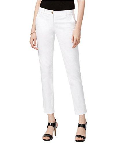 MICHAEL Michael Kors Women's Miranda Skinny Pants (White, - Mk Miranda