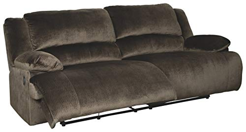 Signature Design by Ashley Clonmel 2-Seat Reclining Sofa Chocolate