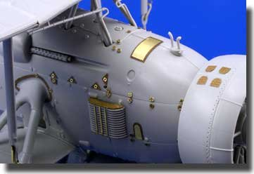 Eduard Photoetch 1:32 -Swordfish hinges and surface panels (Trumpeter) - EDP32240   B009YKCWYO