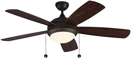 Monte Carlo 5DIC52RBD-V1 Discus Classic 52″ Ceiling Fan