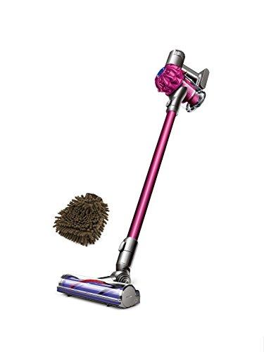 Dyson V6 Cordless Stick Vacuum (Complete Set) w/ Gift: Premium Microfiber Cleaner