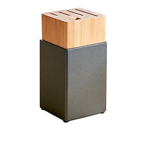 Drawer Inspired Five - Knife Block Knives Holder Without Knives Set Kitchen Storage 5 Slots Bamboo Plastic 1.2KG