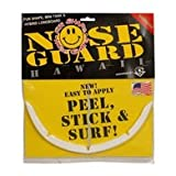 Surfco Hawaii SURFCO-FUN SHAPE,MINI HYBRID NOSE GUARD WHITE