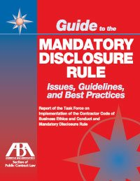 Download Guide to the Mandatory Disclosure Rule: Issues, Guideline and Best Practices PDF