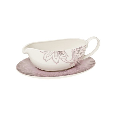 Denby Monsoon Chantilly Sauce Jug and Stand