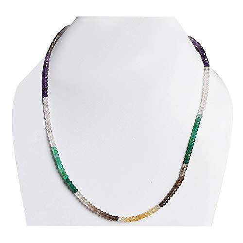 Ravishing Impressions Very Cute 4 MM Natural Multi Gemstone Strands Beads, Amethyst, Citrine, Green Onyx, Smoky, Handmade, Roundel Beads FSJ-694