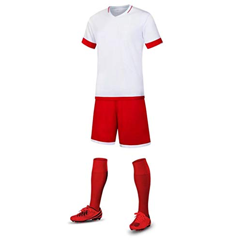 check out 4bbac 8fac3 Team Set Republe Kit 0 Maglia Calcio Football Gioco Training Manica Sport  Corta Uomo 4y8qwgR8xI