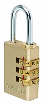 Sterling Combination Padlock Sterling Locks CPL131