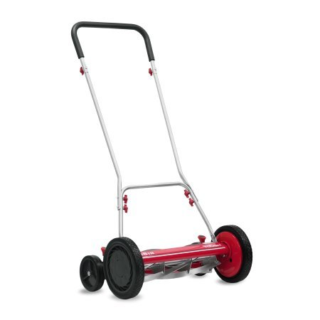 Hyper Tough 1816-18HT 18″ 5 Blade Reel Mower with Trailing Wheels Review