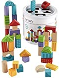 Carter's Educational 50-Piece Colorful Building and