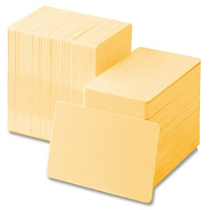 Beige 30 mil CR80 Graphic Quality PVC Cards (500/Box) - Quality 30 Mil 500 Card