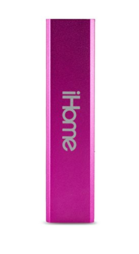 iHome | Pocket Power - Universal External Battery 2,200 mAh - Pink