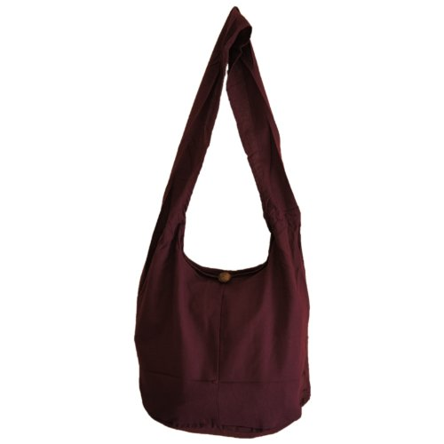 Bag Burgundy Hippie Thai Sling Monk fq00UO