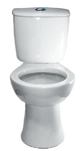 Sloan ST9012A Dual Flush Elongated Toilet Tank System, White