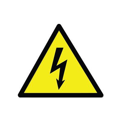 Danger High Voltage Sign Warning Vinyl Sticker - Car Phone Helmet - SELECT (High Voltage Guitar)