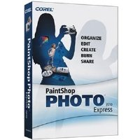Corel Paint Shop Photo Express 2010 Software
