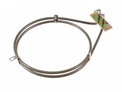 Amica 8001785 - Resistencia para horno eléctrico (190 mm, 2000 W)