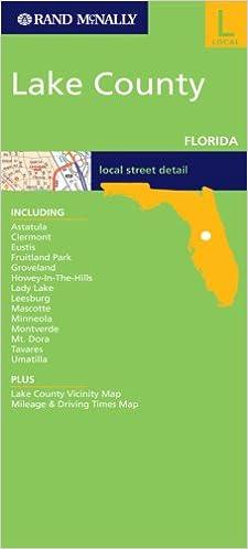 Map Of Lake County Florida.Rand Mcnally Lake County Map Not Available 9780528862526 Amazon