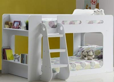Sleepland Beds Shortie Low Height Bunk Bed White Amazon Co Uk