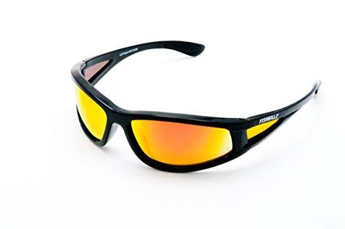 FishGillz Floating Sunglasses - Baja with Fire Revo - Fishgillz Sunglasses