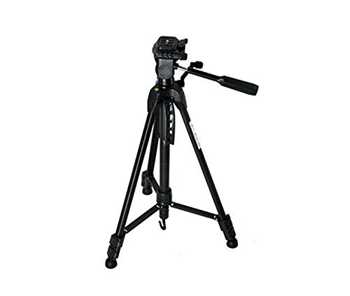 YSF 60 Inch travel Professional Tripod for All Digital SLR DSLR Cameras and Camcorder Canon nikon Olympus ETC With carry bag by YSF