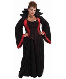 Forum Novelties Woman's Vampiress Costume, Multi-Colored, 3X-Large