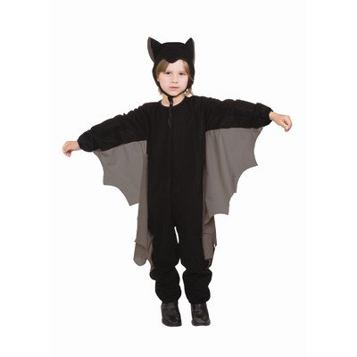 Cute-T-Bat Child Costume, Grey