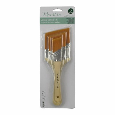 LINZER/AMERICAN BRUSH AMU 1024 Angle Sash Utility Paint Brush Set (3 Piece)
