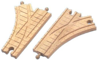 Thomas The Tank 99240 6.5 in. Single Curved Switch Track ()