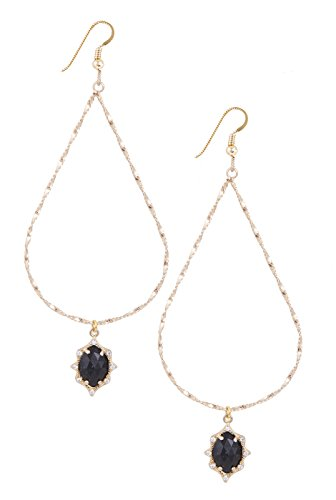 Lucky Star Jewels Women's Gold Zaire Earrings Lucky Star Jewels