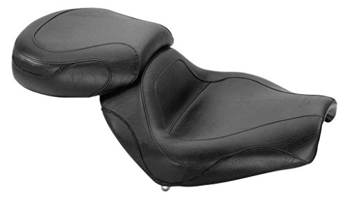 New Mustang Motorcycle Seat - 2002-2008 Kawasaki Vulcan 1600 Mean Streak (2-PC Sport Touring Seat / ()