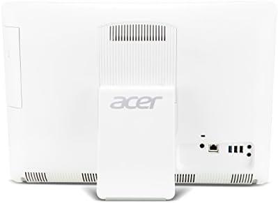 Acer Aspire ZC-602 - Ordenador todo en uno (Intel Celeron 1017U, 4 GB de RAM, 1 TB, Intel HD Graphics, Windows 8.1), blanco