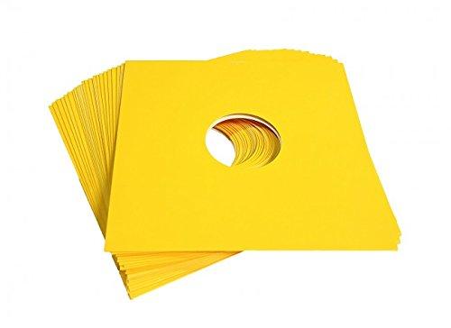 Neo Media 12-Inch LP Sleeve - Yellow