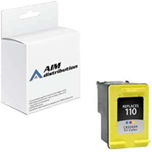 433 Color, 1-Pack 826 HP 110 Awesometoner Compatible Ink Cartridge Replacement for HP CB304AN use with PhotoSmart A310