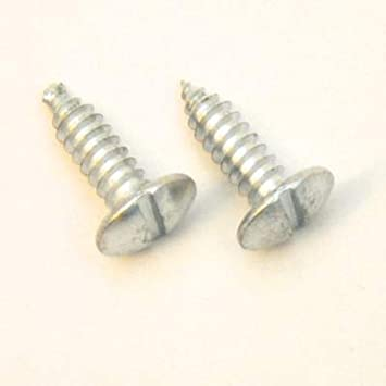 CarBowz EZ Line License Plate Screws and Bolts Nylon Insert