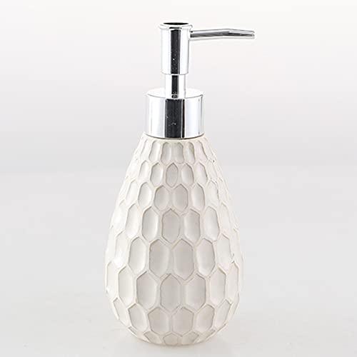 Zeepdispenser, Keramische Hand Zeep Dispenser, Shampoo Lotion Fles Zeep Dispenser Voor Hotel Restaurant Badkamer Keuken…