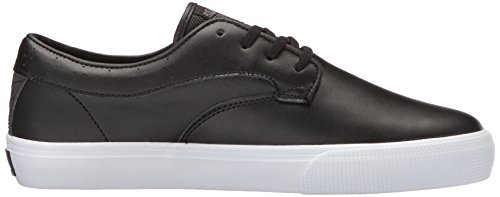 Lakai Scarpe Riley Hawk Chocolate Suede Surf Skate AI17 Black Leather