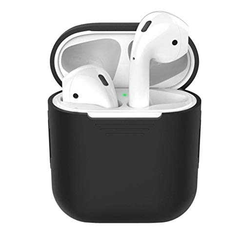 Jackallo AirPods Case Silicone Airpods Earphone Charging Case Cover Wireless Bluetooth Headset Protective Sleeve Cover…