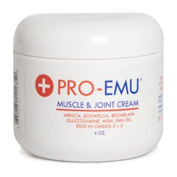 Amazon Com Pro Emu Muscle Amp Joint Cream An All