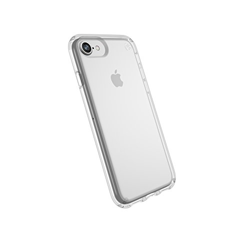 Speck Products Presidio Clear Case for iPhone 8 (Also fits 7/6S/6), Clear/Clear