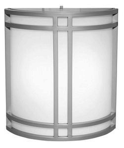 Access Lighting 20362-SAT Artemis 2-Light Wet Location Wall Fixture, Satin with Opal - Fixture Wet Location Wall