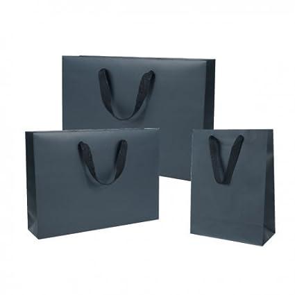 Comptoir de l Emballage - 20 Bolsas Negras manillas cinta ...